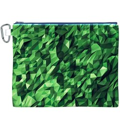 Green Attack Canvas Cosmetic Bag (xxxl)