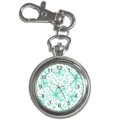 Pattern Floralgreen Key Chain Watches
