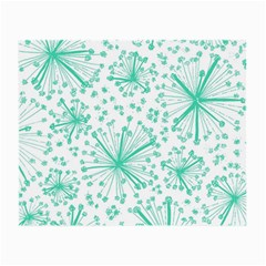 Pattern Floralgreen Small Glasses Cloth (2 Side)