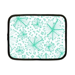 Pattern Floralgreen Netbook Case (small)