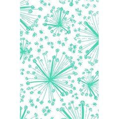 Pattern Floralgreen 5 5  X 8 5  Notebooks