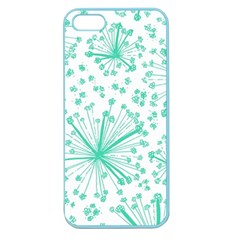 Pattern Floralgreen Apple Seamless iPhone 5 Case (Color)