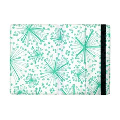 Pattern Floralgreen Apple Ipad Mini Flip Case