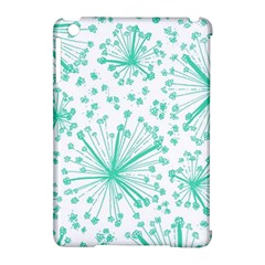 Pattern Floralgreen Apple Ipad Mini Hardshell Case (compatible With Smart Cover)