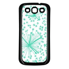 Pattern Floralgreen Samsung Galaxy S3 Back Case (black)