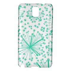 Pattern Floralgreen Samsung Galaxy Note 3 N9005 Hardshell Case