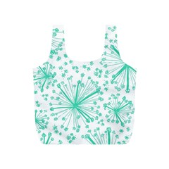 Pattern Floralgreen Full Print Recycle Bags (s)