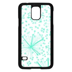 Pattern Floralgreen Samsung Galaxy S5 Case (black)