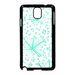 Pattern Floralgreen Samsung Galaxy Note 3 Neo Hardshell Case (black)