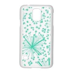 Pattern Floralgreen Samsung Galaxy S5 Case (white)