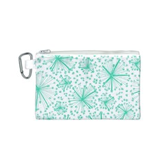 Pattern Floralgreen Canvas Cosmetic Bag (s)