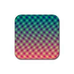 Art Patterns Rubber Square Coaster (4 Pack)