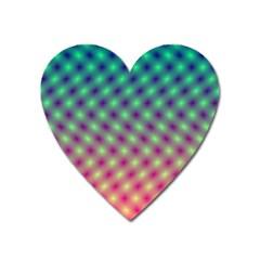Art Patterns Heart Magnet