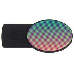 Art Patterns Usb Flash Drive Oval (2 Gb)