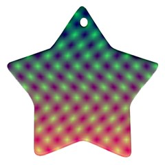 Art Patterns Star Ornament (two Sides)