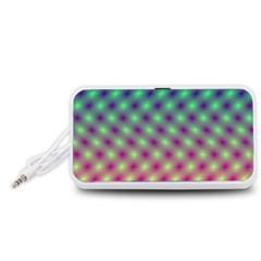 Art Patterns Portable Speaker (White)