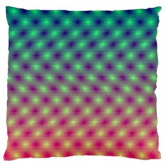Art Patterns Large Cushion Case (two Sides)