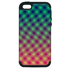 Art Patterns Apple iPhone 5 Hardshell Case (PC+Silicone)