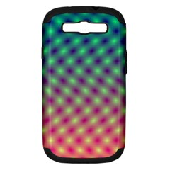 Art Patterns Samsung Galaxy S Iii Hardshell Case (pc+silicone)