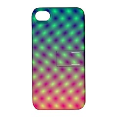 Art Patterns Apple Iphone 4/4s Hardshell Case With Stand