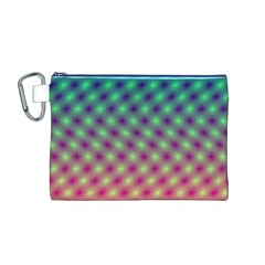 Art Patterns Canvas Cosmetic Bag (m)