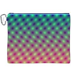 Art Patterns Canvas Cosmetic Bag (xxxl)