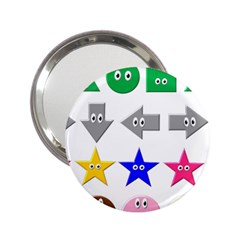 Cute Symbol 2 25  Handbag Mirrors