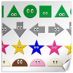 Cute Symbol Canvas 12  x 12