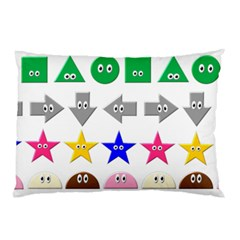 Cute Symbol Pillow Case (two Sides)