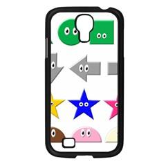 Cute Symbol Samsung Galaxy S4 I9500/ I9505 Case (black)