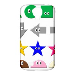 Cute Symbol Samsung Galaxy S4 Classic Hardshell Case (pc+silicone)