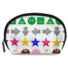 Cute Symbol Accessory Pouches (large)