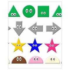 Cute Symbol Drawstring Bag (small)