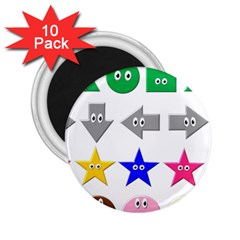 Cute Symbol 2.25  Magnets (10 pack)