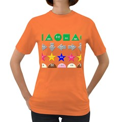 Cute Symbol Women s Dark T Shirt