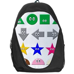 Cute Symbol Backpack Bag