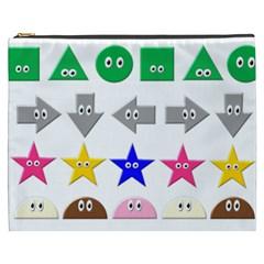 Cute Symbol Cosmetic Bag (xxxl)