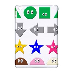 Cute Symbol Apple Ipad Mini Hardshell Case (compatible With Smart Cover)
