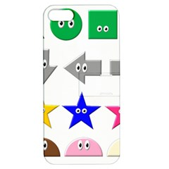 Cute Symbol Apple Iphone 5 Hardshell Case With Stand