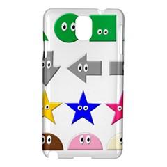 Cute Symbol Samsung Galaxy Note 3 N9005 Hardshell Case