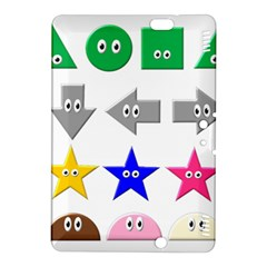 Cute Symbol Kindle Fire Hdx 8 9  Hardshell Case
