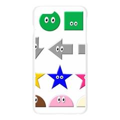 Cute Symbol Apple Seamless iPhone 6 Plus/6S Plus Case (Transparent)