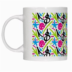 Cool Graffiti Patterns  White Mugs