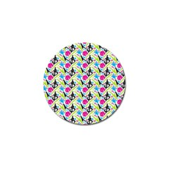 Cool Graffiti Patterns  Golf Ball Marker (4 Pack)