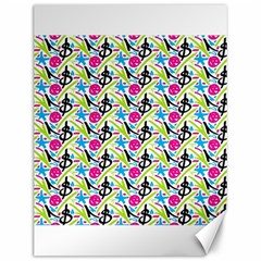 Cool Graffiti Patterns  Canvas 12  x 16