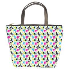 Cool Graffiti Patterns  Bucket Bags