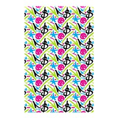 Cool Graffiti Patterns  Shower Curtain 48  X 72  (small)
