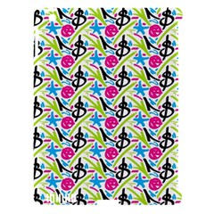 Cool Graffiti Patterns  Apple iPad 3/4 Hardshell Case (Compatible with Smart Cover)