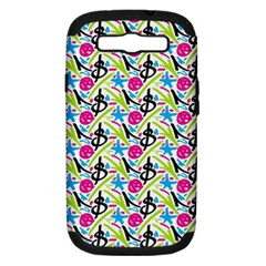 Cool Graffiti Patterns  Samsung Galaxy S Iii Hardshell Case (pc+silicone)