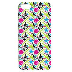 Cool Graffiti Patterns  Apple Iphone 5 Hardshell Case With Stand
